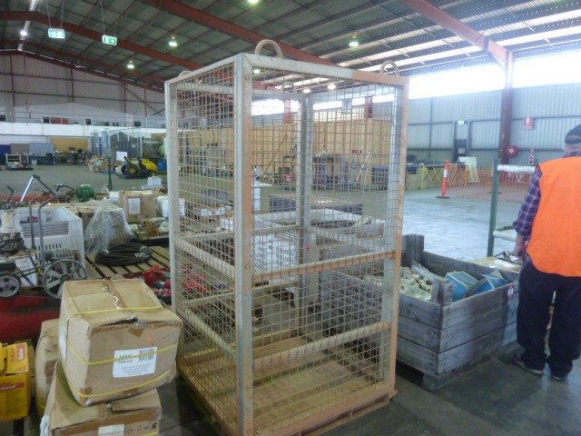 2015 East West Engineering Steel Crane Lift Cage (Pooraka, SA)