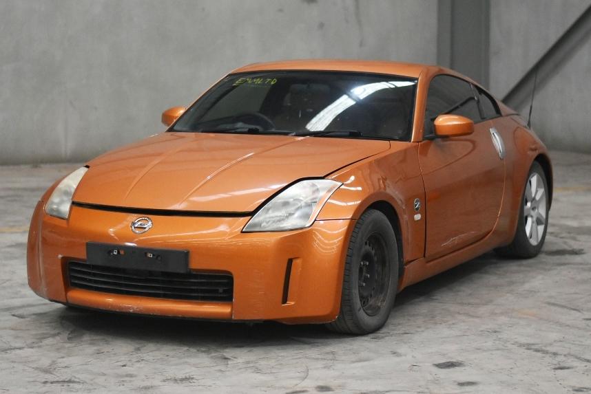 2003 Nissan 350Z Touring Z33 Manual Coupe (WOVR)