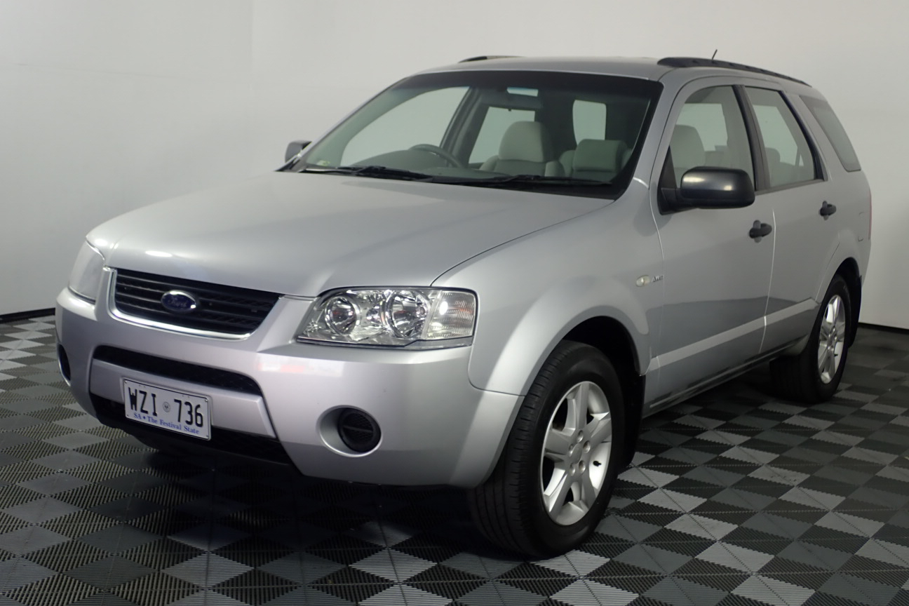 2004 Ford Territory TS (4x4) SX Automatic Wagon