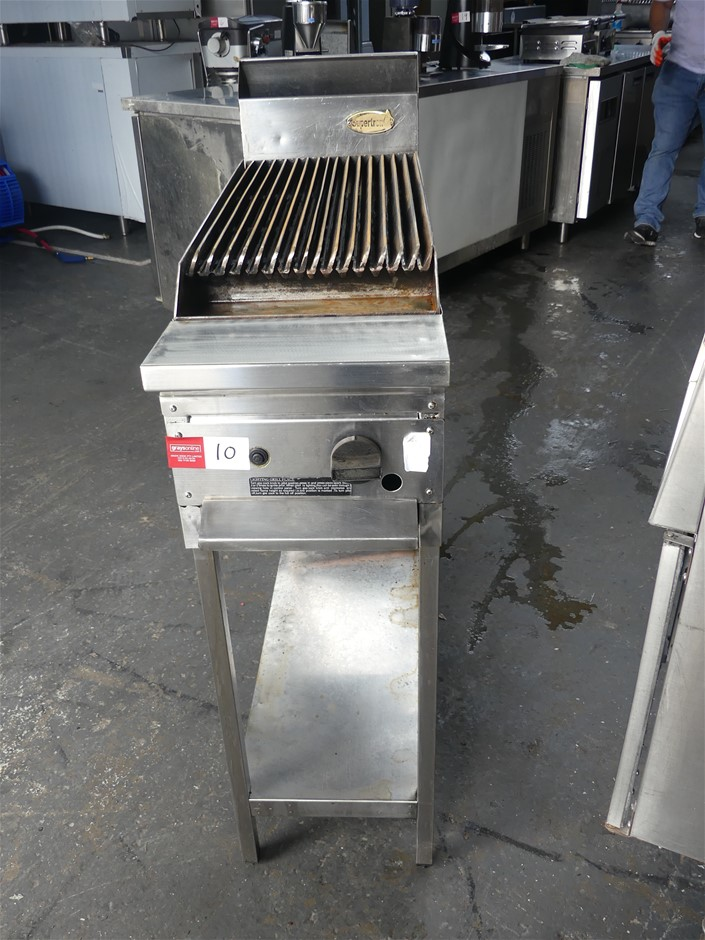 Supertron Free Standing Stainless Steel Grill