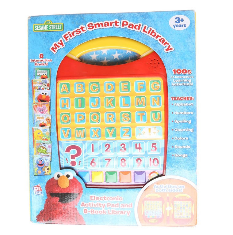 SESAME STREET My First Smart Pad & 8-Book Library. Buyers Note - Discount F