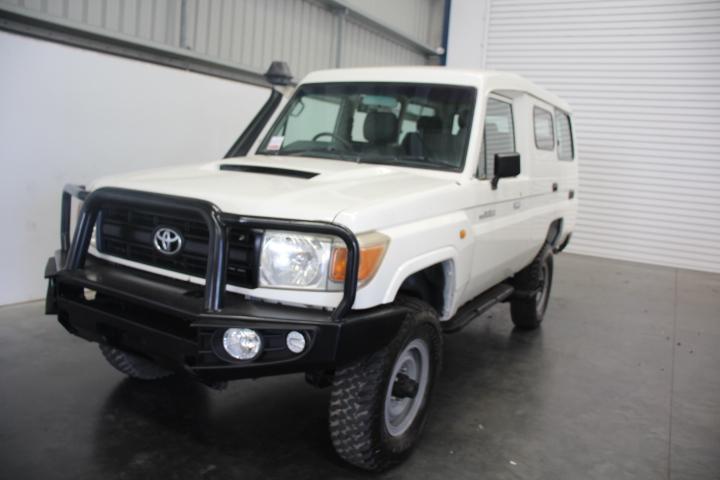 2008 Toyota Landcruiser Workmate VDJ78R T/Diesel (Service History)