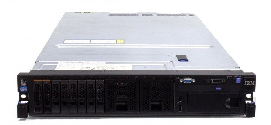 IBM X3650 M4 V2 Rackmount Server 16 Cores 384GB RAM 7.2TB