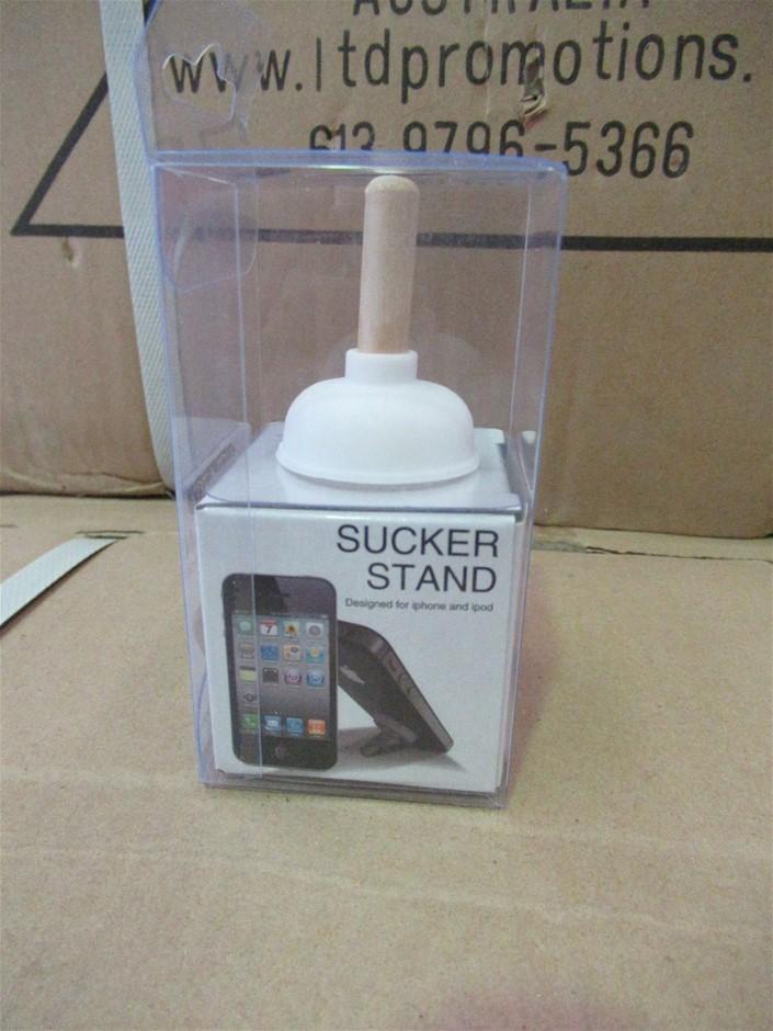 White Socker Stand for Mobile Phone