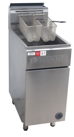 GOLDSTEIN GAS SINGLE PAN DEEP FRYER, QUALITY COMMERCIAL KITCHEN EQU