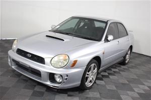 2002 Subaru Impreza WRX AWD Turbo