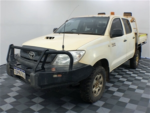 2010 Toyota Hilux SR (4x4) KUN26R Turbo