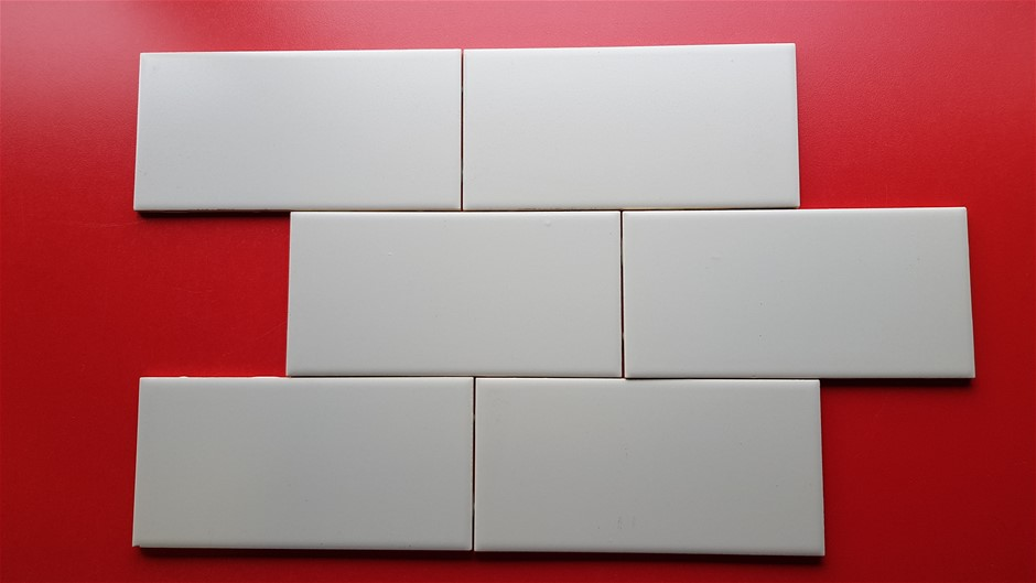 Johnson Pale Grey Matt Wall Tile (3 Boxes =3m2) RRP $100