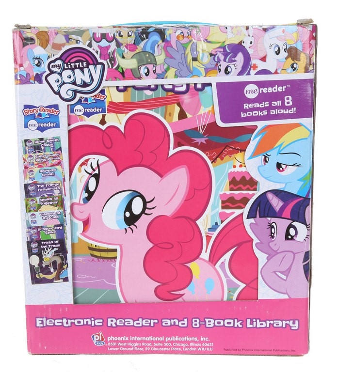 Electronic Reader & 8-Book Library, MY LITTLE PONY. (SN:CC42420) (266643-30