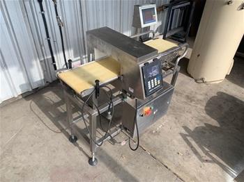 Ishida Check Weigh/Metal Detector Digital Automatic Checking System