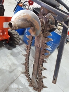 Mini Loader Trench Digger Attachment - D