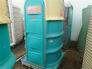 Fresh Water Flush Portable Toilet - Form