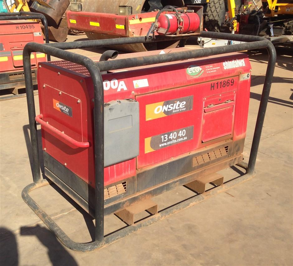2011 Shindaiwa 400Amp Diesel Welder/Generator (Location: Kalgoorlie, WA)