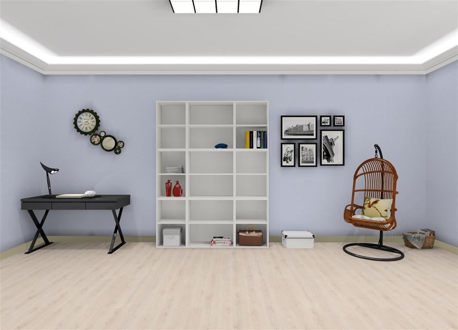 White Melamine Cabinets/Shelving (Flat Pack)