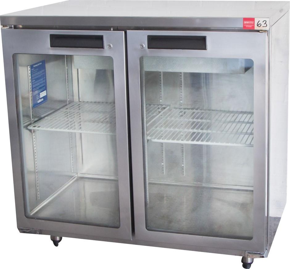 Williams 2 Glass Door Display Refrigerator