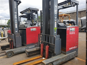 Ride On Reach Forklifts