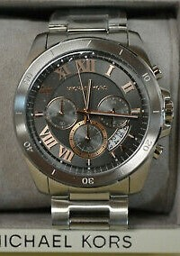Powerful looking Michael Kors Couture NY 'Brecken' mens chronograph watch