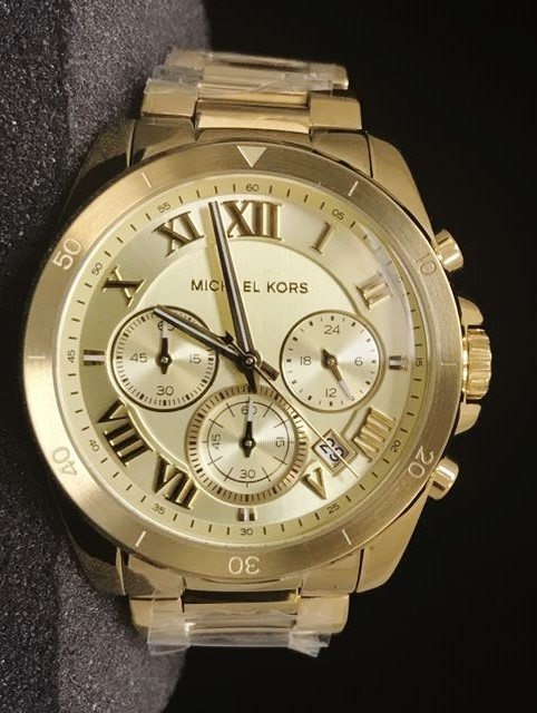 New Michael Kors Couture NY 'Brecken' mens chronograph watch,