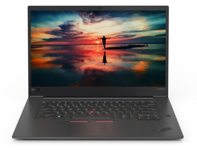 Lenovo ThinkPad X1 Extreme 15.6-inch Notebook, Black