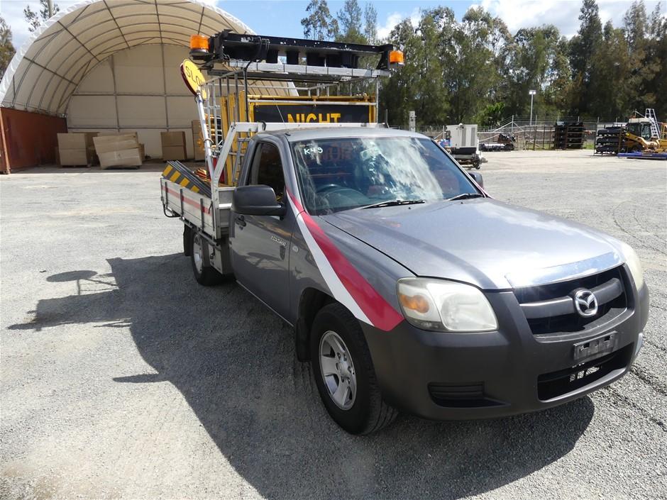 2008 Mazda BT50 2.5Di Turbo RWD 3 seater Traffic Control Ute