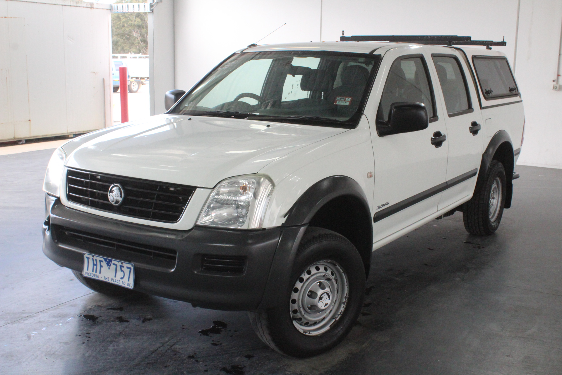 2004 Holden Rodeo LX RA Automatic Dual Cab