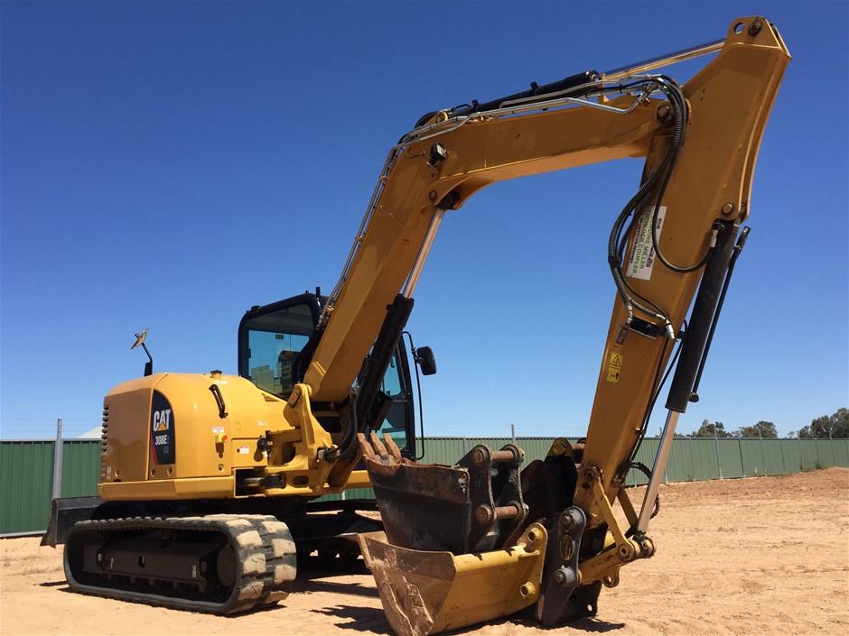 2015 Caterpillar 308E2CR Hydraulic Excavator