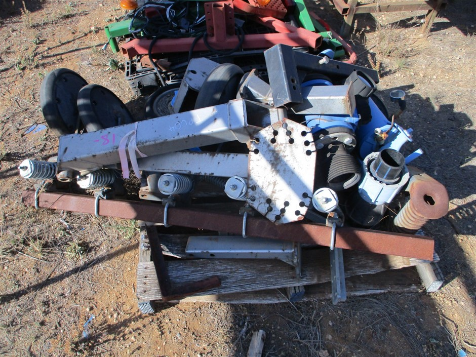 2 x Pallets Comprising Assorted Farm Equipment