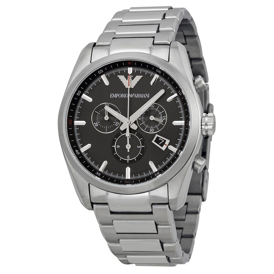 Contemporary new Armani Sportivo Stainless Steel Men's Watch.