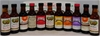 Glen View Assorted Miniatures Liqueur & Spirits NV (11x 75ml), Cork.