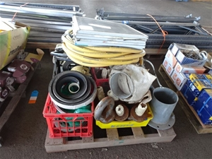 A Quantity of Mixed Construction Items