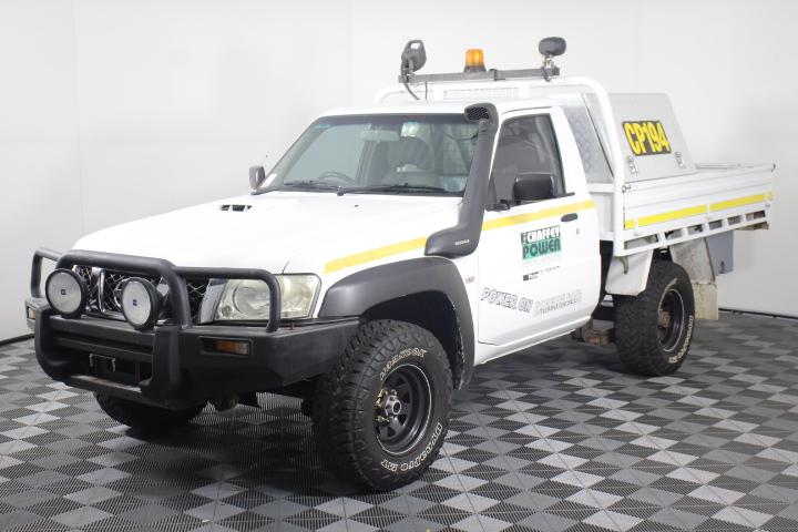 2011 Nissan Patrol DX (4x4) GU Turbo Diesel Cab Chassis