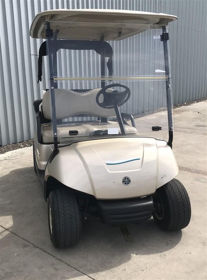 2014 Yamaha G29 Drive 48V Electric Golf Cart (JW9506020) TROJAN Bat