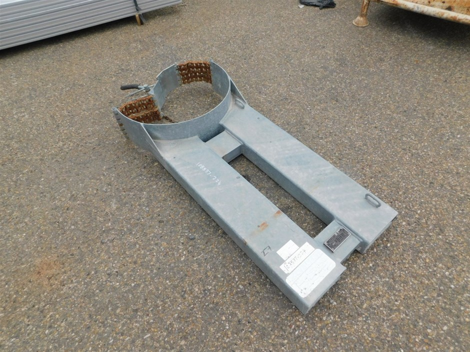 East West Engineering DL1000 Forklift Drum Handling Attachment