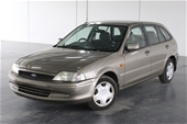 Unreserved 2000 Ford Laser LXi KN Automatic Hatchback