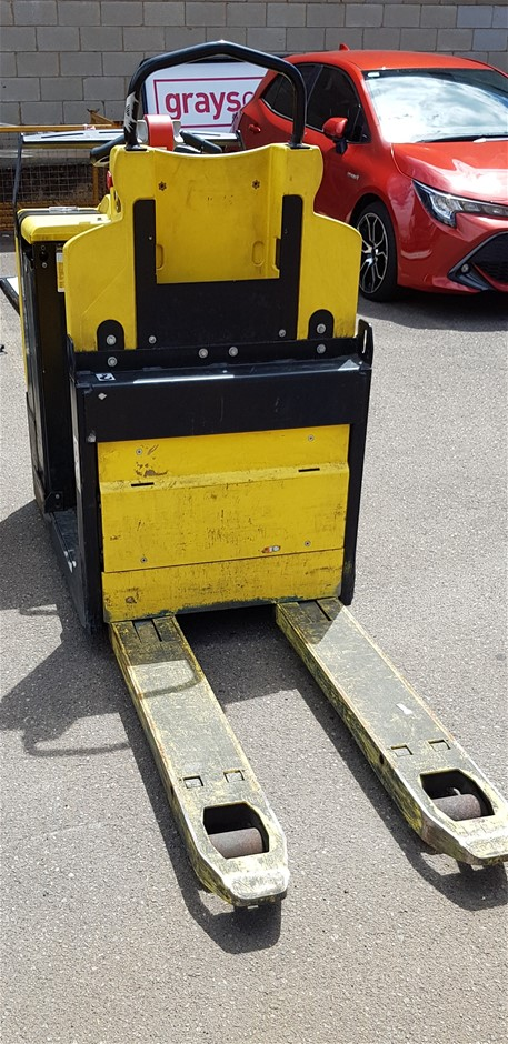 2011 Hyster LO2.0 2.0 Ton Stand On Electric Pallet Mover