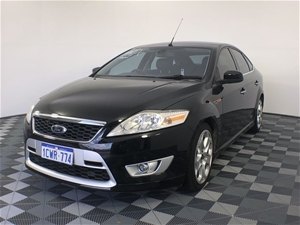 2008 Ford Mondeo XR5 Turbo MA Manual Hat