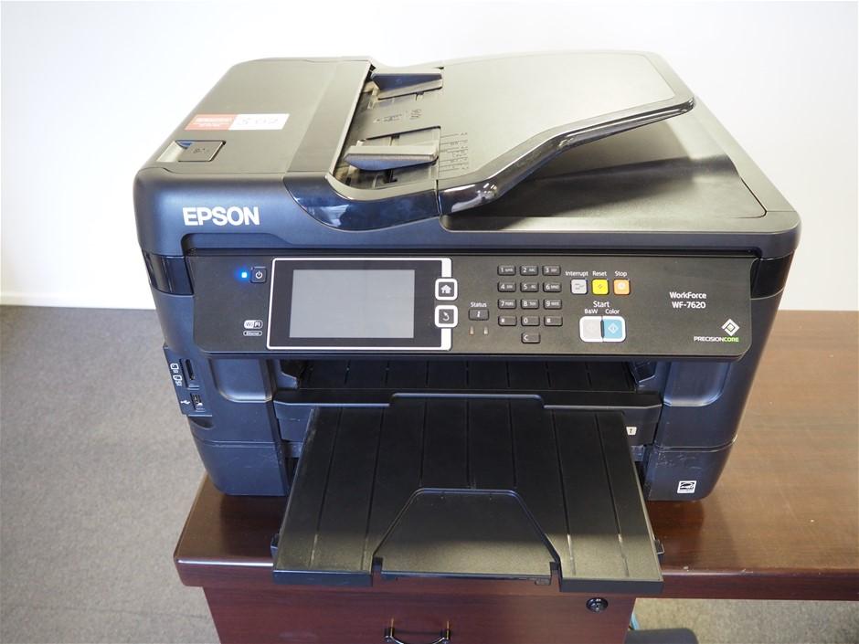 Epson WorkForce WF-7620 Multifunction Printer