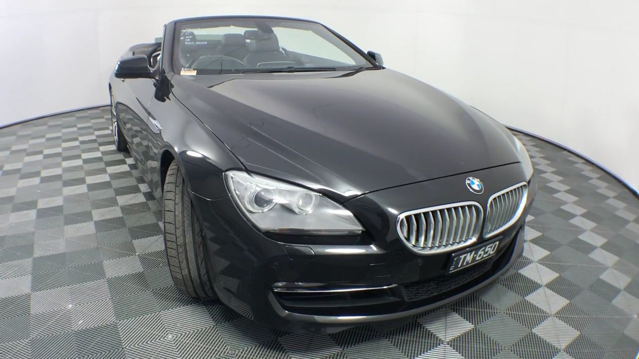 2011 BMW 6 Series 650i F12 Automatic - 8 Speed Convertible