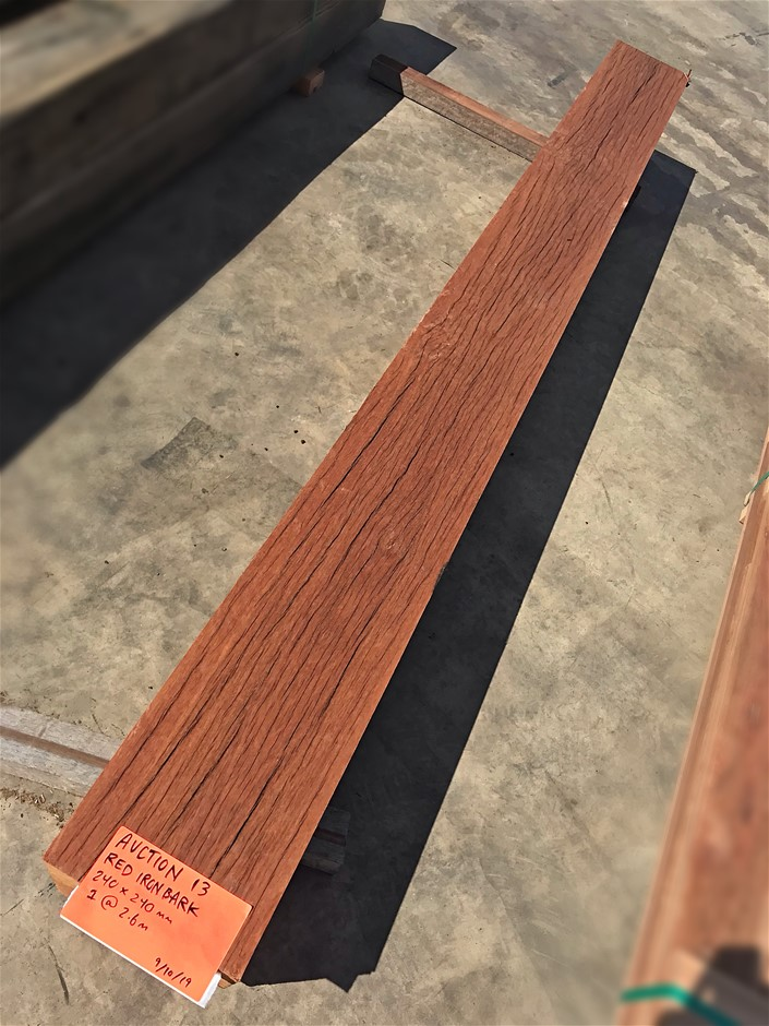 Red Ironbark Hardwood Post - 240x240mm (2.6 LM)