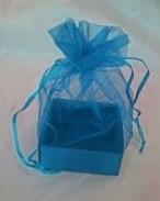Organza Gift Box Aqua