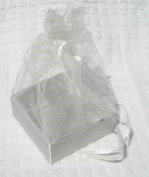 Organza Gift Box Ivory