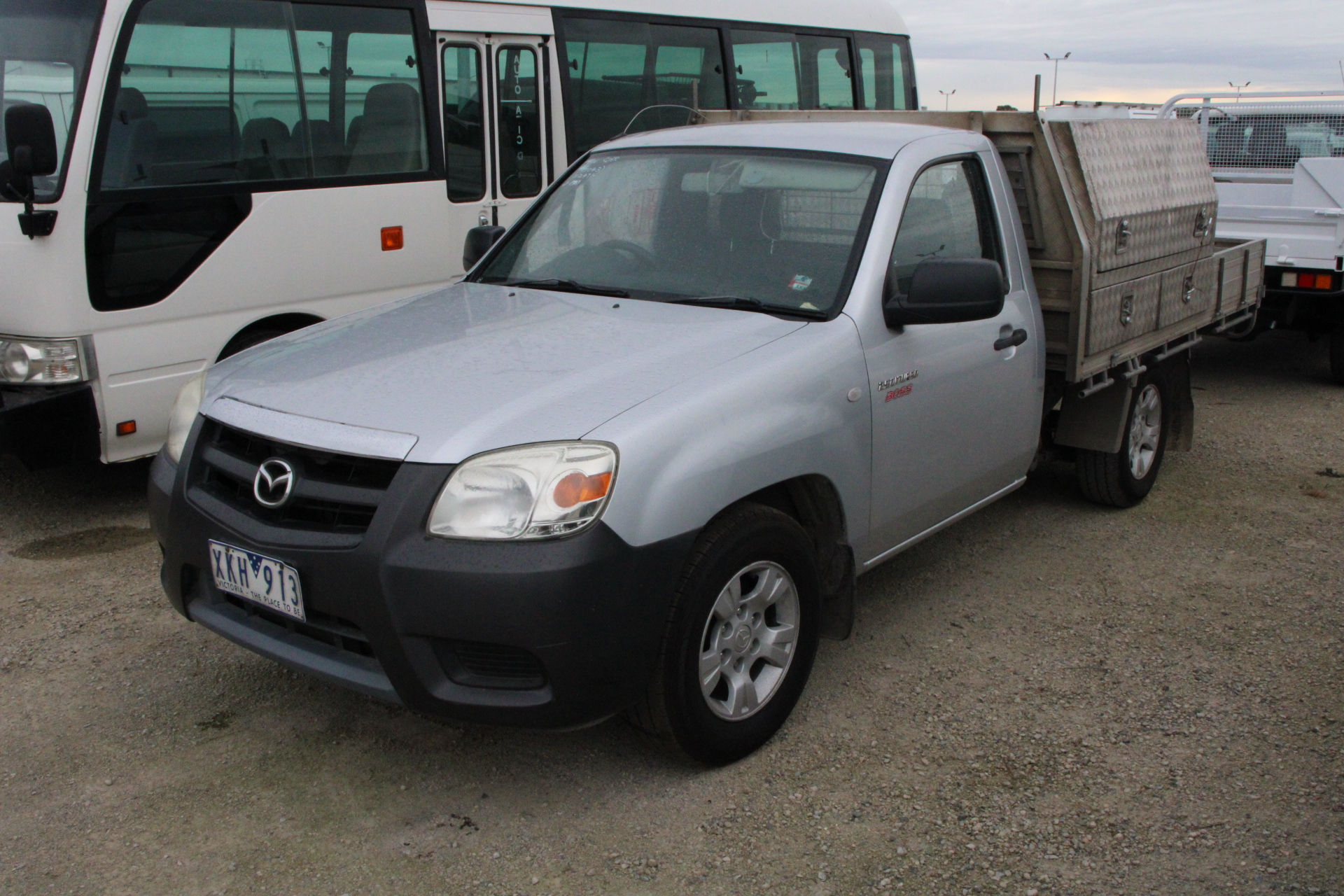 2009 Mazda BT-50 DX B2500 Turbo Diesel Manual Cab Chassis