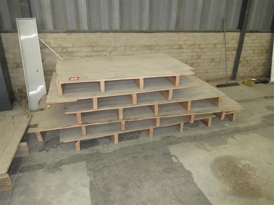 5x Timber Floor Sections
