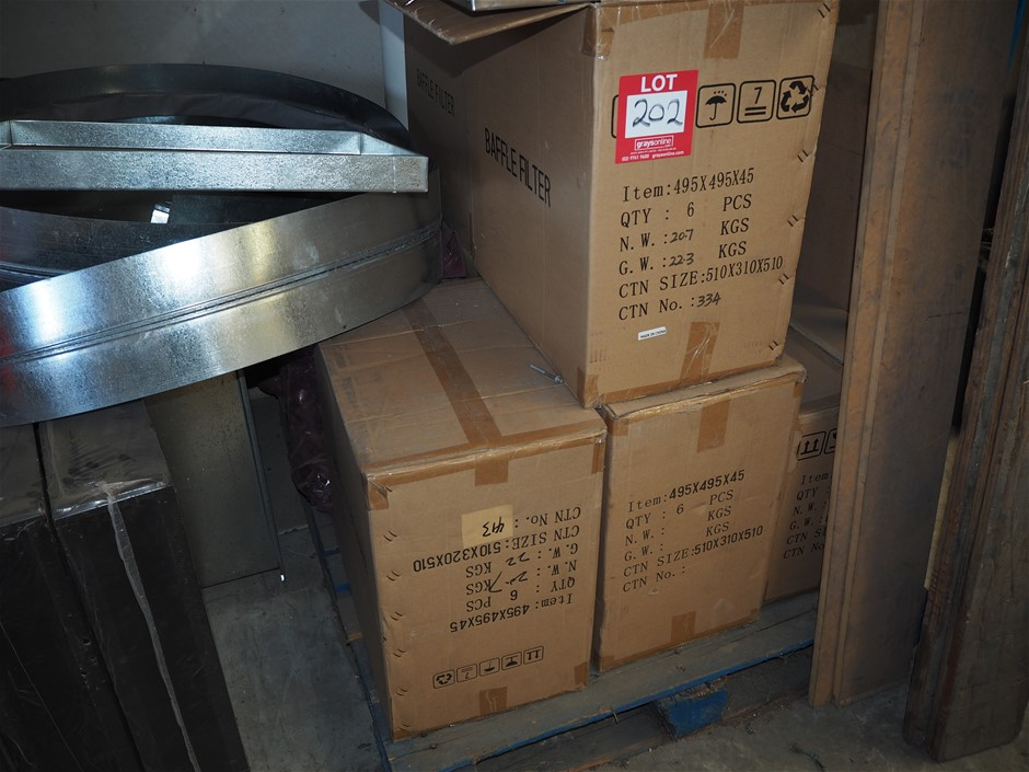 1 x Pallet of Baffle Filters
