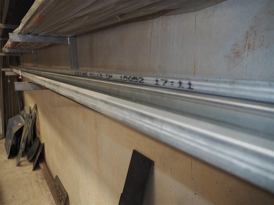 Assorted Lengths of Galvanised Steel RHS