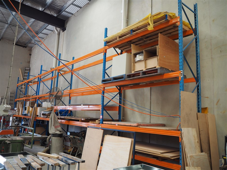 5x Continuous Bays of Dexion M Pallet Racking
