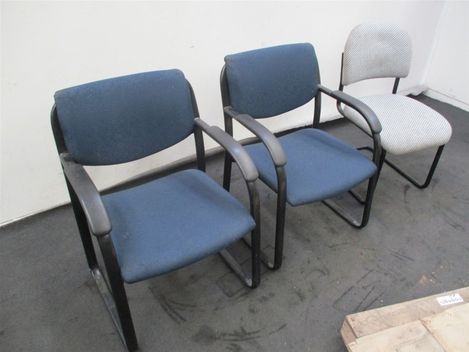 Qty 3 x Various Office Chairs