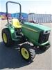 2012 John Deere 3032E Tractor