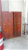 Qty 5 x Assorted Full Height Personal Lockers