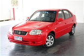 Unreserved 2006 Hyundai Accent 1.6 LS Manual Hatchback